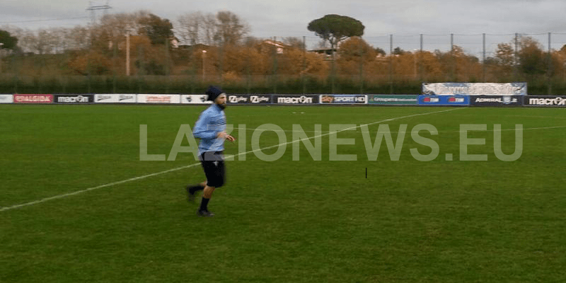 Candreva già in campo