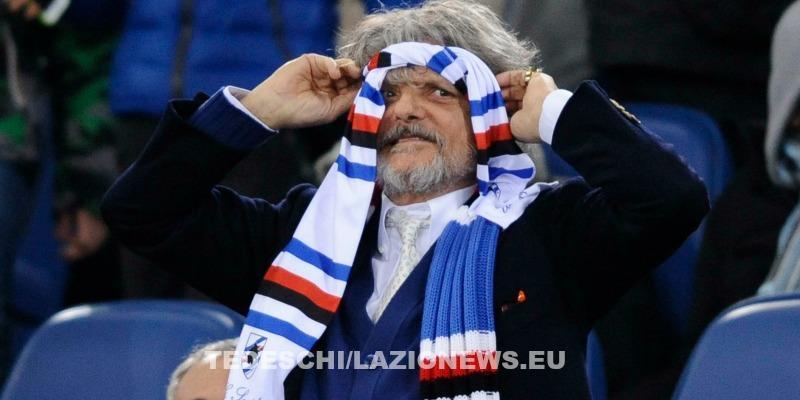 Sampdoria, Ferrero punge: