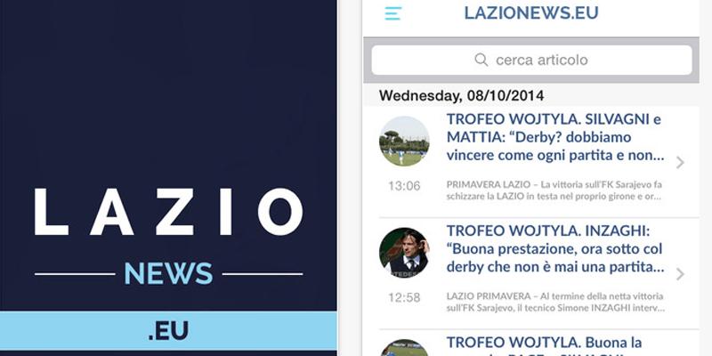 App Lazionews