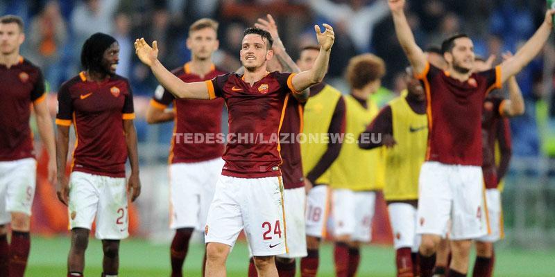 08112015-Roma-Lazio-esultanza-Florenzi