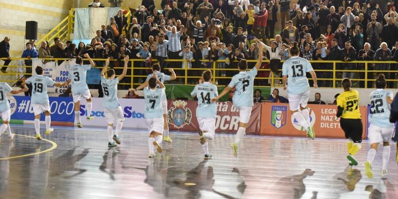 Locri - Lazio fine gara