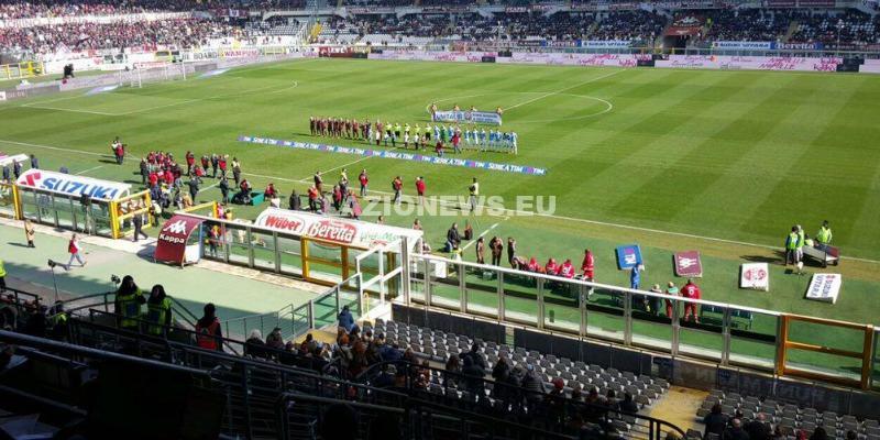 06032016 Torino-Lazio squadre in campo