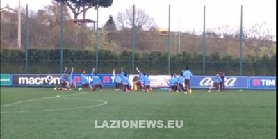 Formello. Lazio, rifinitura sul prato del 'Fersini' (FOTO e VIDEO)