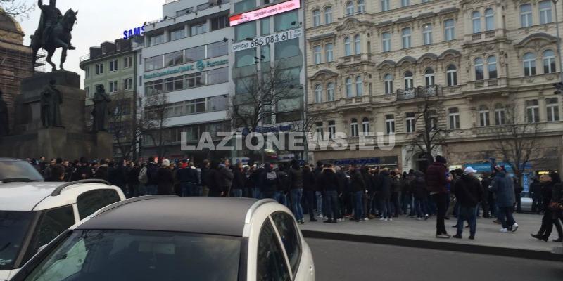 lazio sparta tifosi piazza san venceslao 3