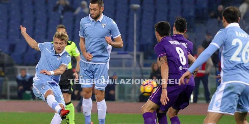 Lazio più forte di tutto: rimonta vincente con la Fiorentina