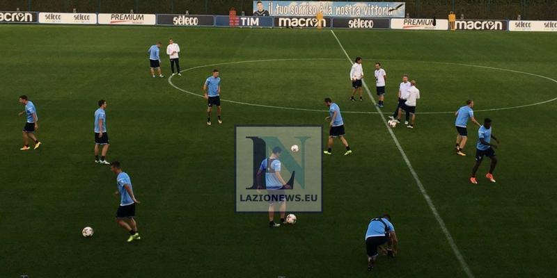 Allenamento Lazio nazionali