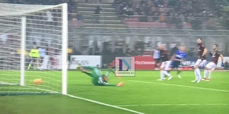 Milan-Lazio, polemiche per il gol di Cutrone. L'attaccante a rischio squalifica