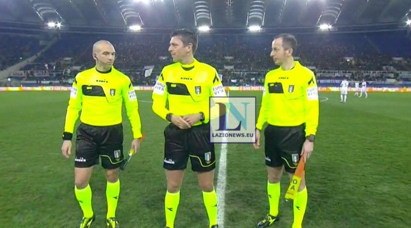 Arbitri di Coppa Italia: a Rocchi Lazio-Milan