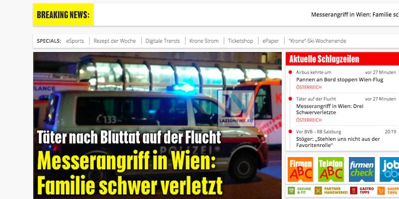 Vienna, uomo accoltella quattro passanti e fugge: un arresto