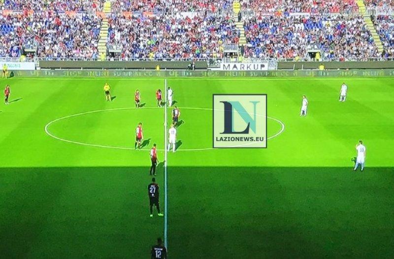 La Lazio non molla l'Europa, Cagliari ko