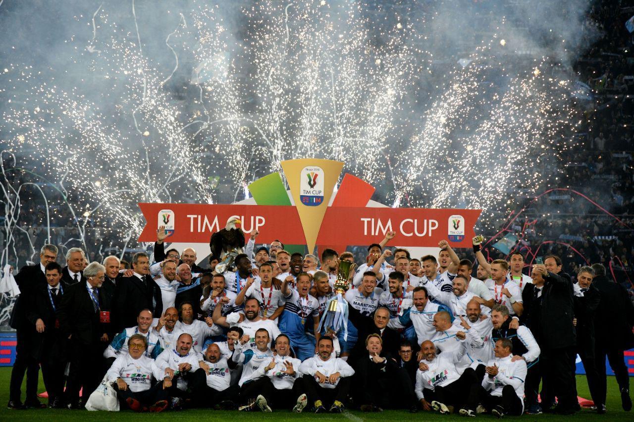 Coppa Italia. Grande notte all'Olimpico e festa per le strade della Capitale