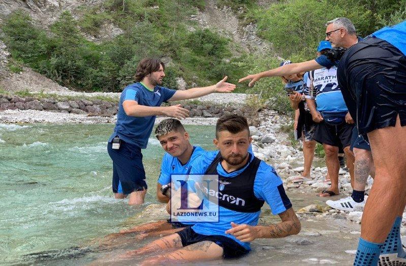 Lazio, goleada nel test con l'Auronzo: triplette di Correa e Luis Alberto