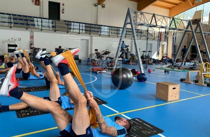 azionews-lazio-auronzo-allenamento-giornata-palestra1.