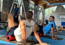 azionews-lazio-auronzo-allenamento-giornata-palestra-squadra