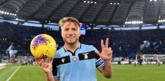 lazionews-lazio-sampdoria-tripletta-immobile-ciro-pallone-serie-a