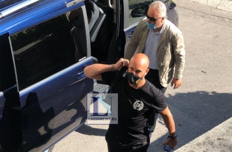 Lazio, striscione degli ultras a Corso Francia: