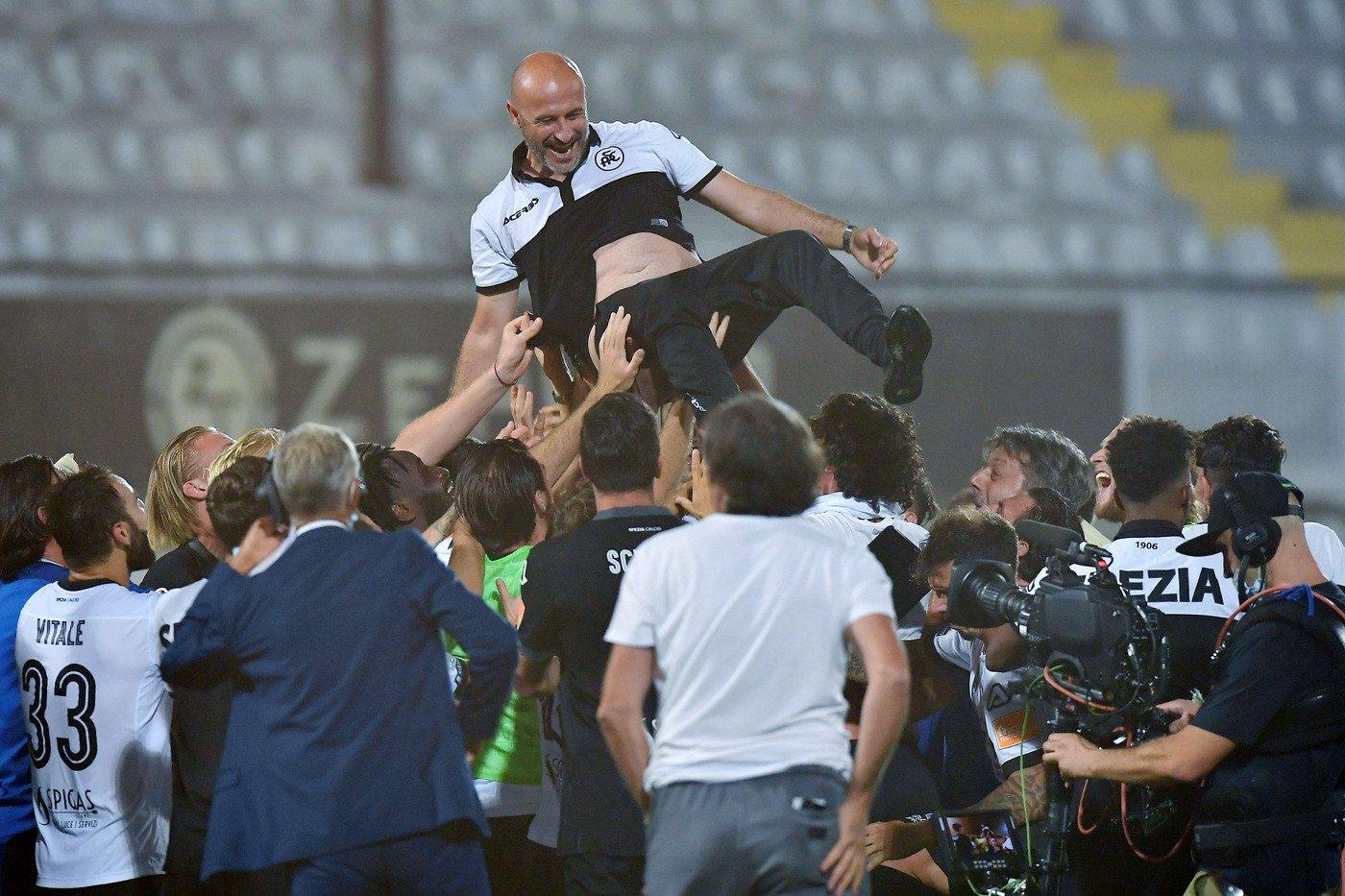 Playoff Serie B, lo Spezia conquista una storica promozione in A ...