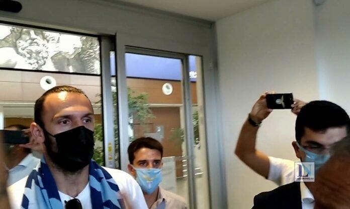 Lazionews-Muriqi-Ciampino-arrivo