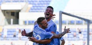 lazionews.lazio-inter-sergej-milinkovic-savic-esultanza-gol-abbraccio-manuel-lazzari