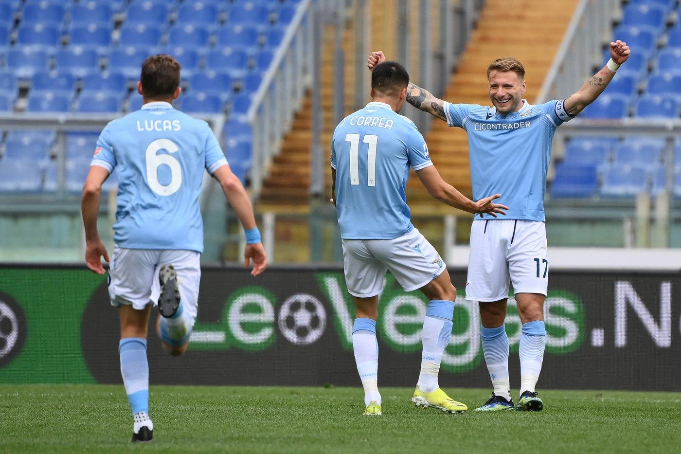 Termina 5-3 Lazio-Benevento! Immobile all'ultimo secondo chiude il match