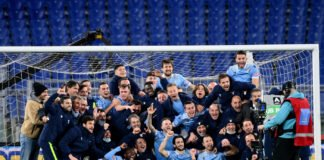 lazionews-lazio-roma-derby-andata-festeggiamenti