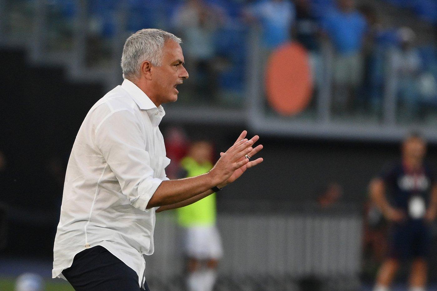 lazionews-roma-mourinho-josé-conference-league